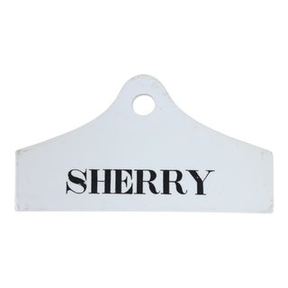 Mid 19th Century Wedgewood Sherry Cask Tag For Sale