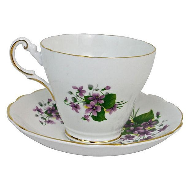 Bone China Cup & Saucer - A Pair - Image 3 of 7