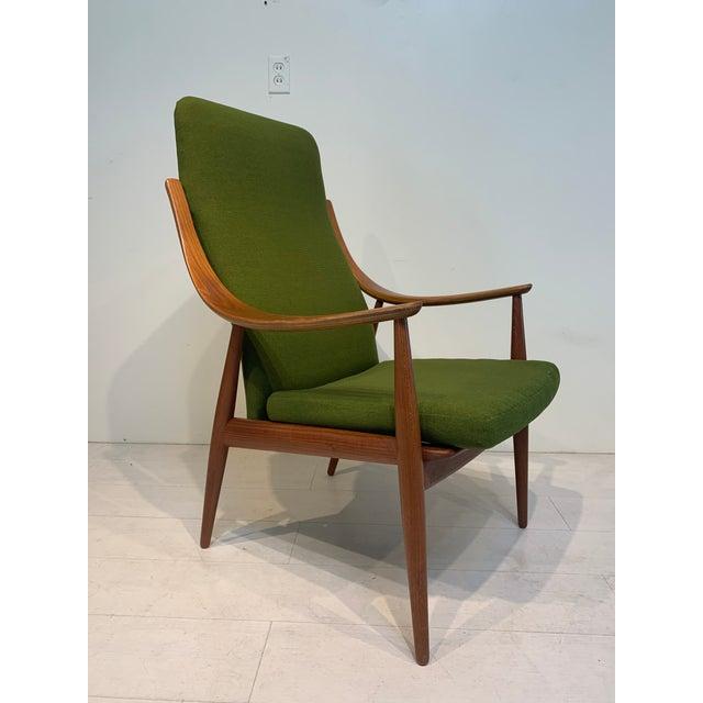 Mid-Century Modern Mid Century Modern Peter Hvidt & Orla Mølgaard-Nielsen for John Stuart Lounge Chair For Sale - Image 3 of 13