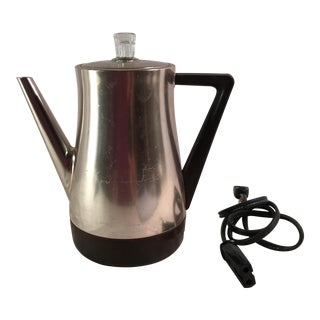 Mid-Century Modern Westbend Copper Colored Flavo Matic Percolator