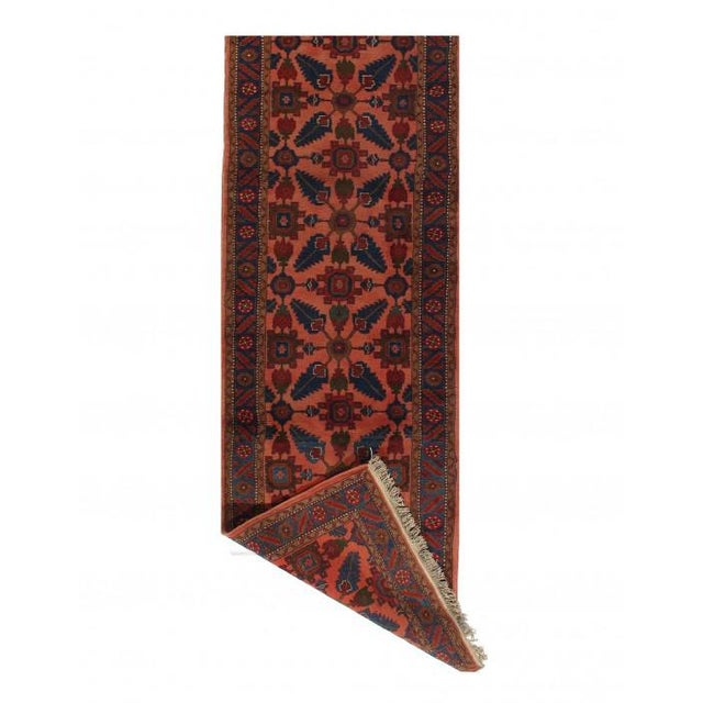 Pasargad Rust Persian Hand Knotted Lilihan Runner For Sale - Image 4 of 7