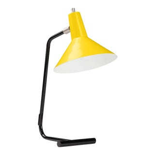 J.J.M. Hoogervorst Yellow Model #1504 Table Light for Anvia For Sale