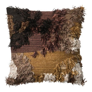"""Justina Blakeney X Loloi Walnut 22"""" X 22"""" Cover with Down Pillow For Sale"""