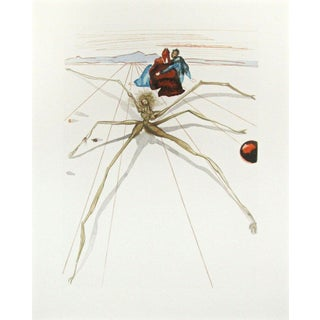 Salvador Dalí­ Purgatory Canto #12, The Divine Comedy (Field 199) 1959-1964 For Sale