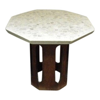 1960s Mid-Century Modern Harvey Probber Terrazzo Accent Table For Sale