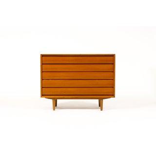 Mid-Century Danish Modern Teak 5 Drawers Upright Chest / Dresser Preview