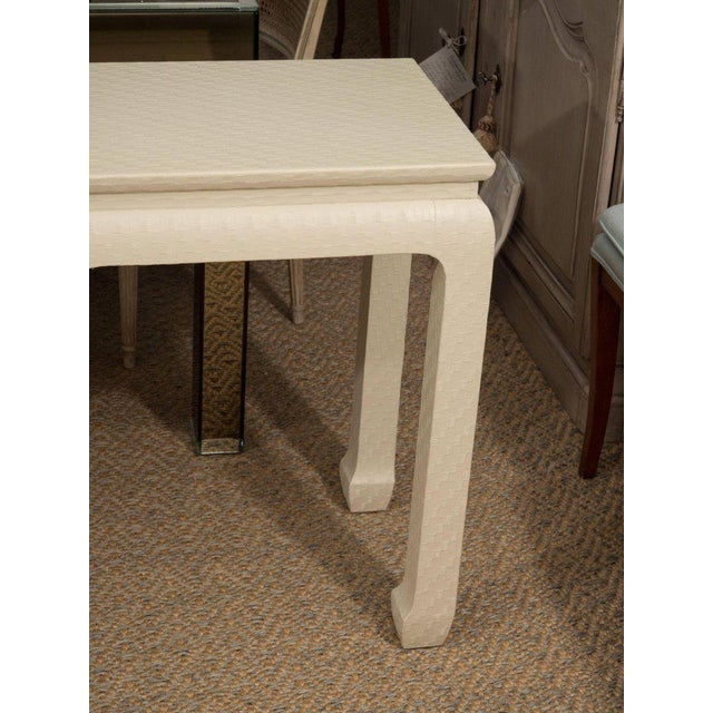 White Lacquered Console Table - Image 6 of 10
