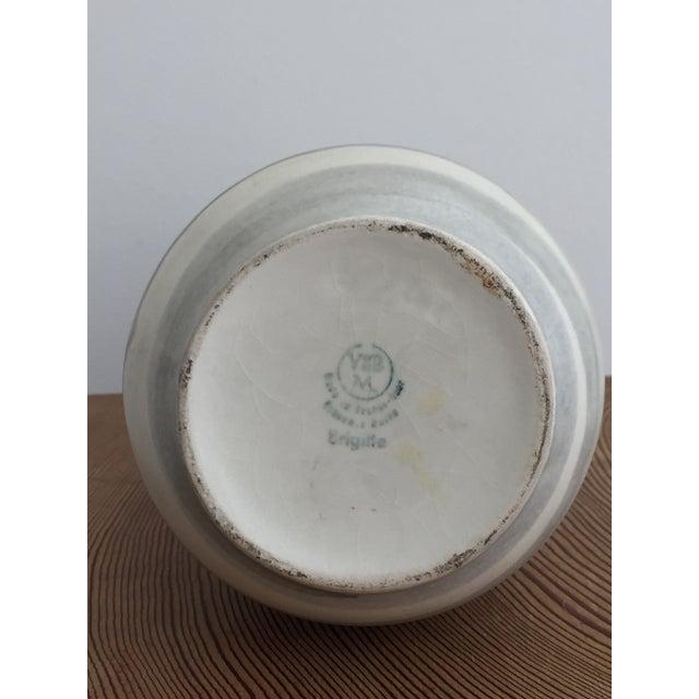 Ceramic 1960s Vintage Modernist Ceramic Vase For Sale - Image 7 of 10
