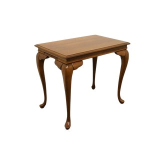 Broyhill Lenoir House Solid Cherry Tea Table For Sale