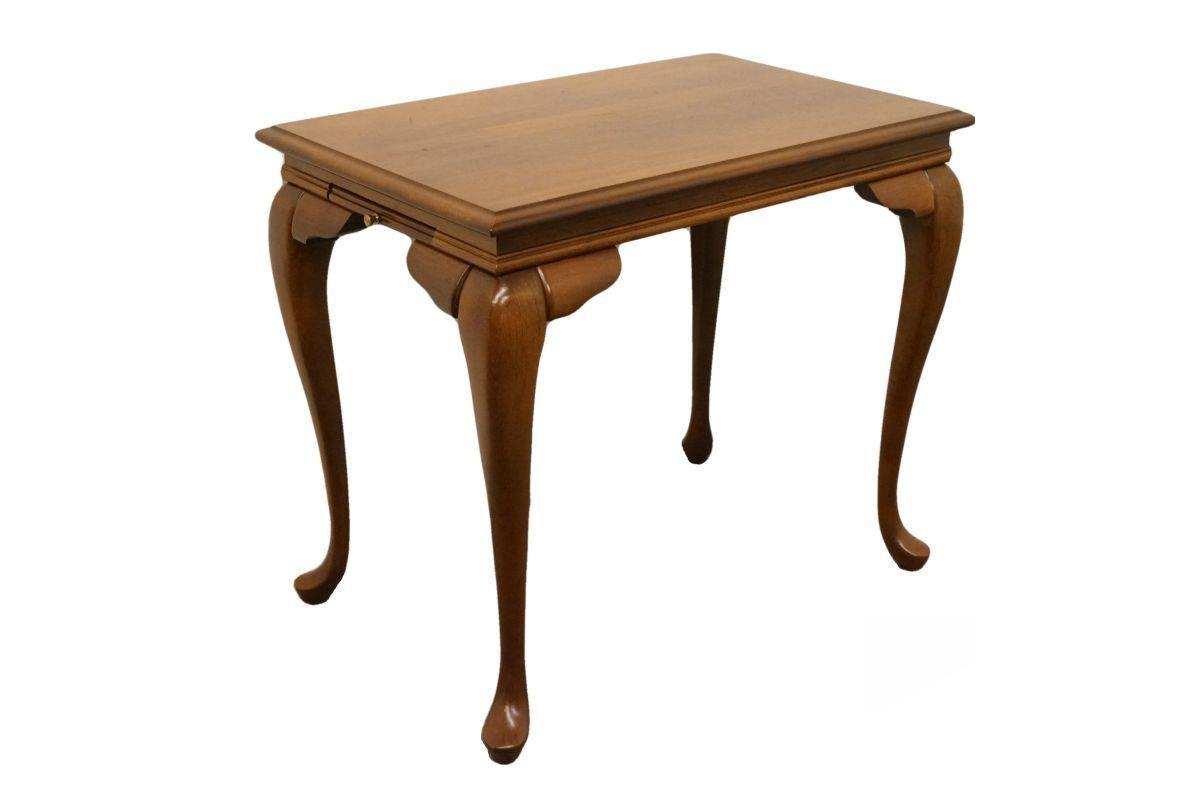 Broyhill Lenoir House Solid Cherry Tea Table