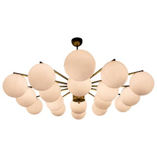 Globes Chandelier by Fabio Ltd For Sale