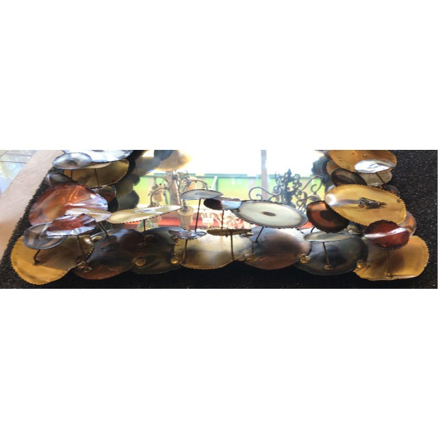 Curtis Jere Raindrops Mirror C Jeré Artisan House For Sale In Tampa - Image 6 of 8