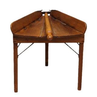 Antique Primitive Dough Rolling Table