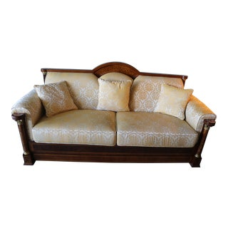 1960s Vintage Empire Sofa For Sale