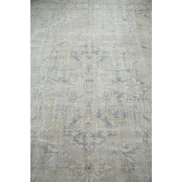 "Distressed Oushak Carpet - 8'9"" X 12'2"" - Image 9 of 10"