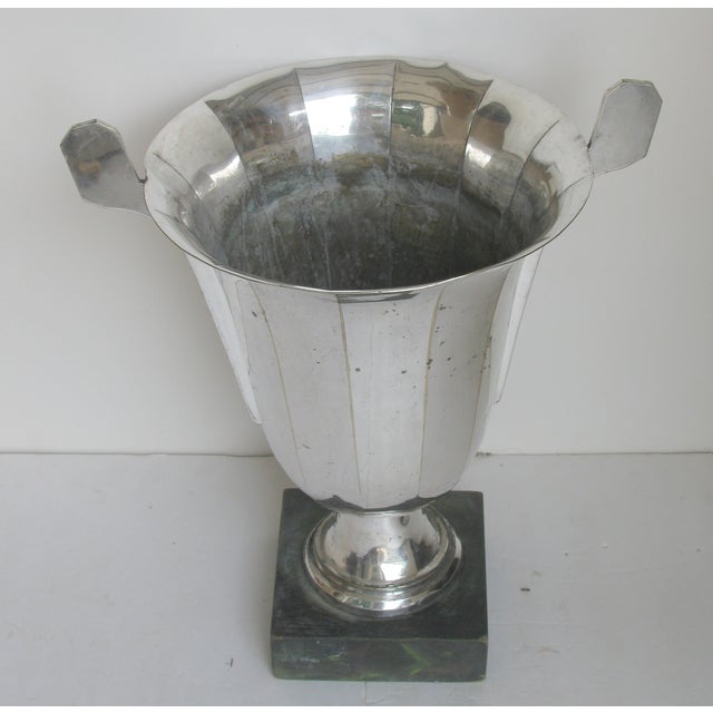 Very Large French Vintage Silver Urn Trophy For Sale - Image 5 of 8