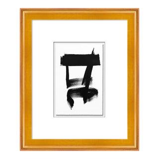 Zen II by Ilana Greenberg in Gold Frame, XS Art Print For Sale