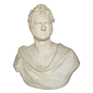 Marble Portrait Bust of George Boole, f.r.s. By Thomas Earle For Sale