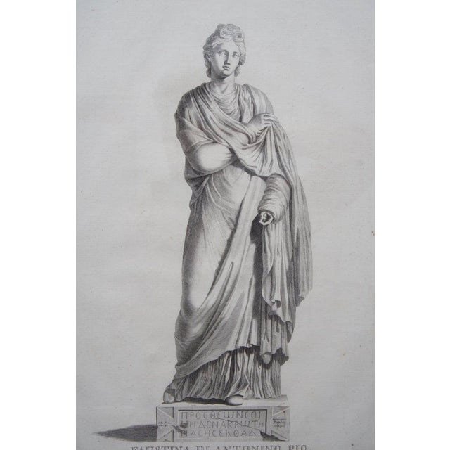 19th Century Neoclassic Engravings - Set of 4 For Sale - Image 11 of 13