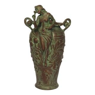 Art Nouveau Style Vase For Sale