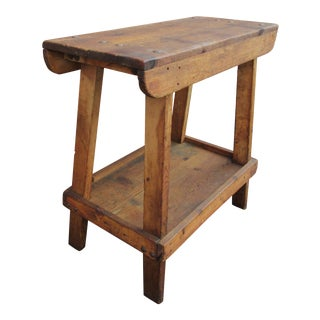 Primitive Utilitarian Farrier Work Table For Sale