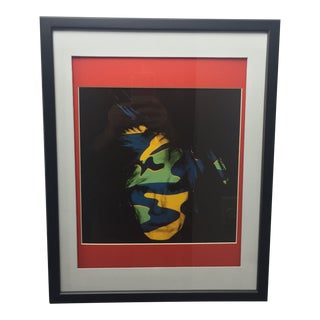 1980's Vintage Self-Portrait Print by Andy Warhol For Sale