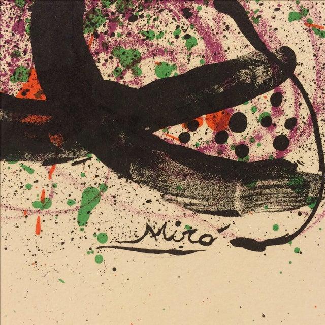 Miro Ma De Proverbis Lithograph - Image 6 of 9