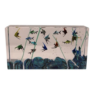 Wave Murano Glass - Murano Glass Aquarium For Sale
