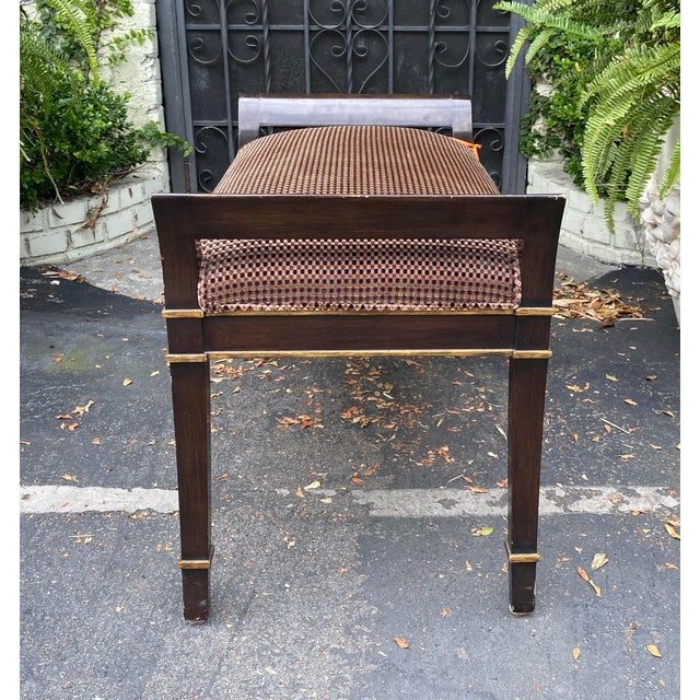 English Sutton Place Designer Bench by Randy Esada Designs for Prospr For Sale - Image 3 of 5