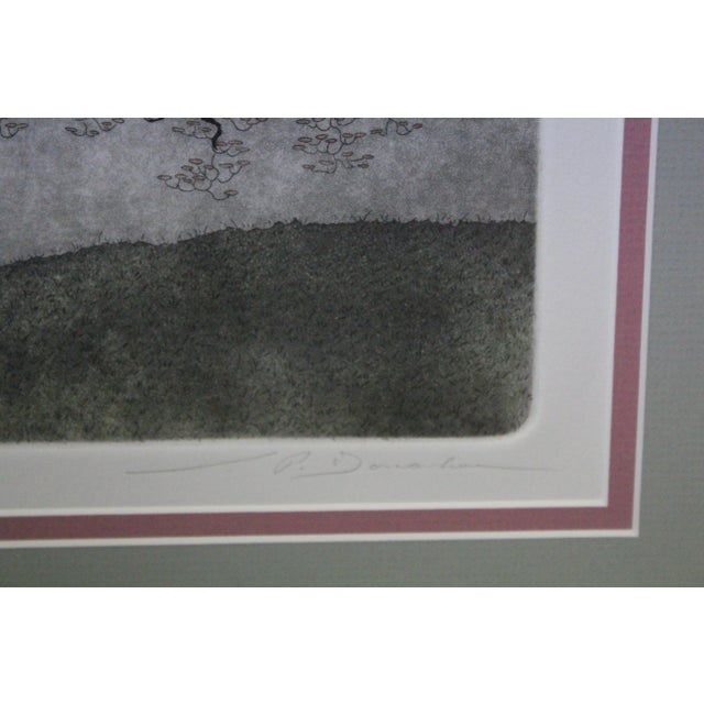 Late 20th Century Framed Dogwood Tree Print For Sale - Image 5 of 8