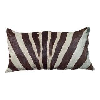 Zebra Hide Custom Pillow For Sale