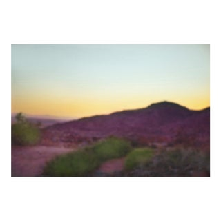 Cheryl Maeder, Desert Rose, Archival Photographic Watercolor Print For Sale