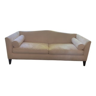 Traditional Style Tan Sofa For Sale