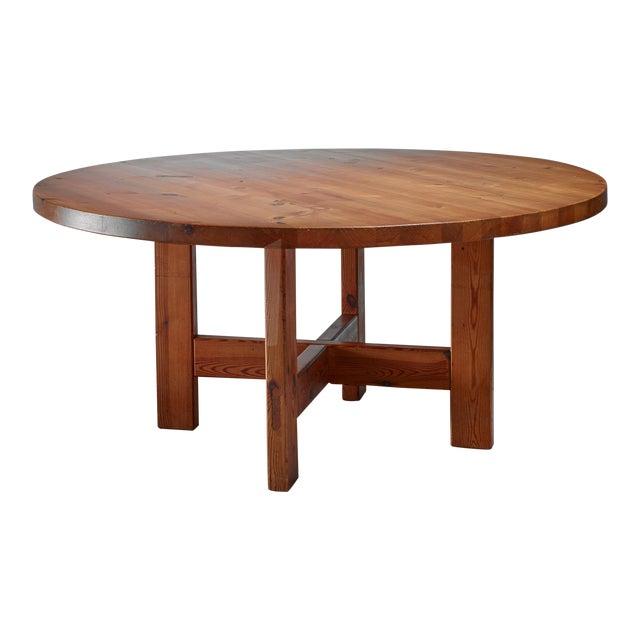 Roland Wilhelmsson Pine Table, Sweden, 1960s For Sale