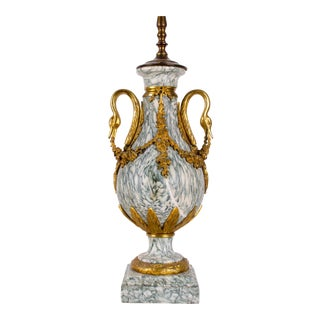 Louis XVI Marble and Ormolu Cassolette Lamp
