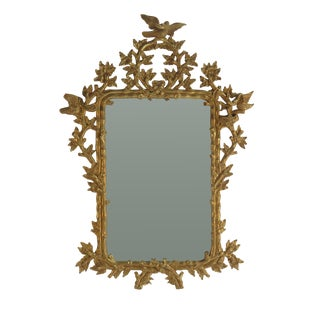 1980s Large Classic George III Style Mirror For Sale