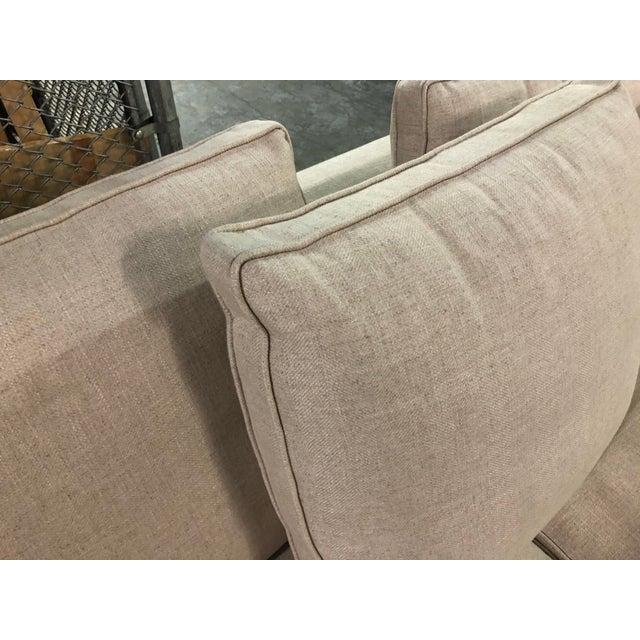 Ecru Maxalto Omnia Sectional Sofa-Extra Long For Sale - Image 8 of 13