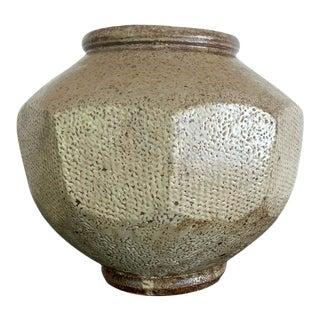 Japanese Mingei Ceramic Jar Tatsuzo Shimaoka For Sale