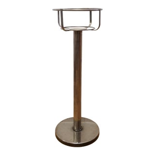 1960s Silver Plate Champagne Bucket Stand For Sale