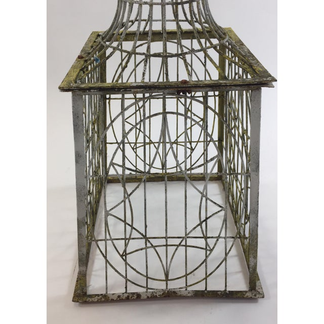 Patina Covered Plant Stand - Image 2 of 4