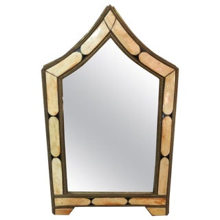 1990s Vintage Moroccan Vanity Mirror For Sale