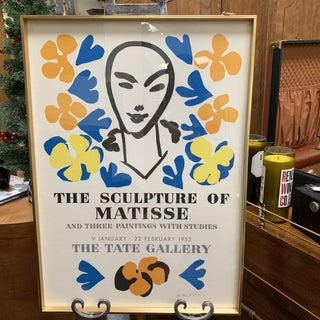 """Henry Matisse """"The Sculpture of Matisse"""" Lithograph Print For Sale"""
