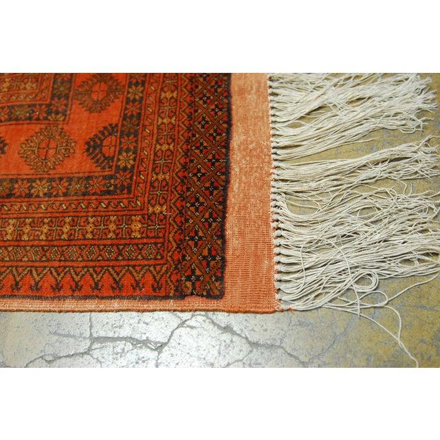 """Vintage Turkoman Tekeh Rug - 4'1"""" X 6'9"""" - Image 3 of 5"""