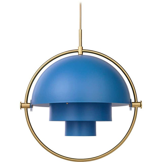 Not Yet Made - Made To Order Louis Weisdorf 'Multi-Lite' Pendant Lamp in Blue For Sale - Image 5 of 5