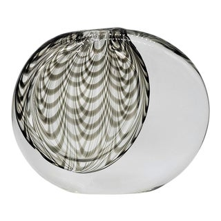 1970s Sasso by DaRos for Cenedese Murano Glass Fenicio Vase For Sale