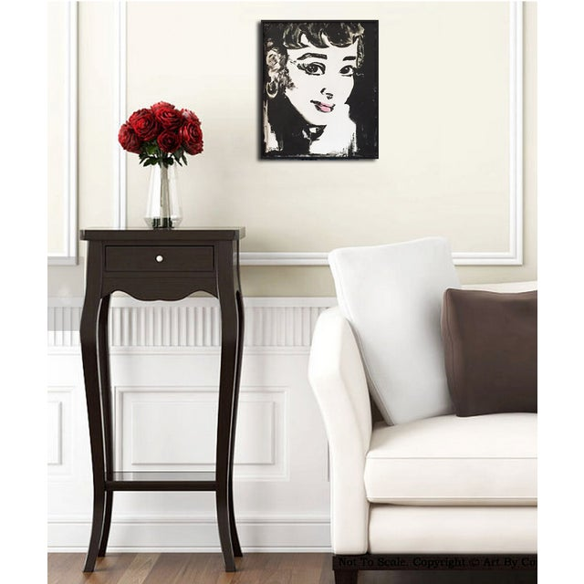 """Audrey"" Original Painting For Sale - Image 4 of 7"