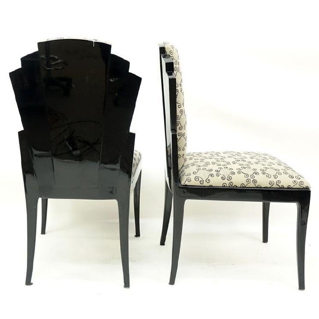 Mid 20th Century Set of 8 Handmade Dining Chairs by Vladimir Kagan for Vladimir Kagan Designs, Signed For Sale - Image 5 of 7