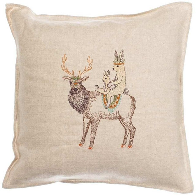 Boho Chic Keeper Pillow For Sale - Image 4 of 4