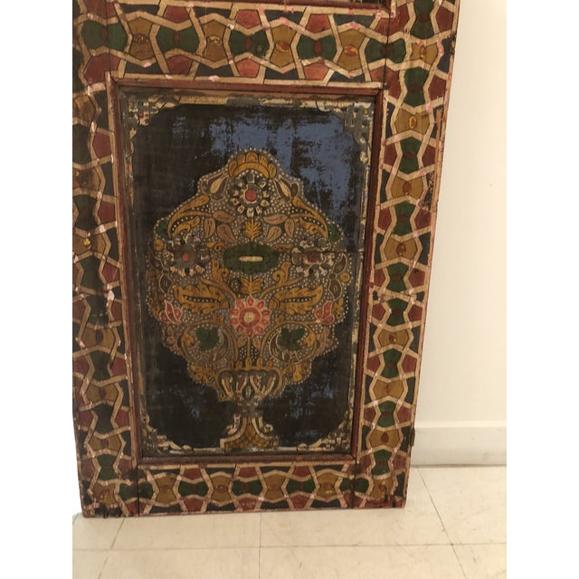 Moroccan Geometric Pattern Single Panel For Sale - Image 10 of 11