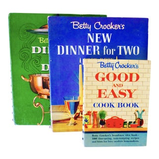 Vintage Betty Crocker Cookbooks - Set of 3